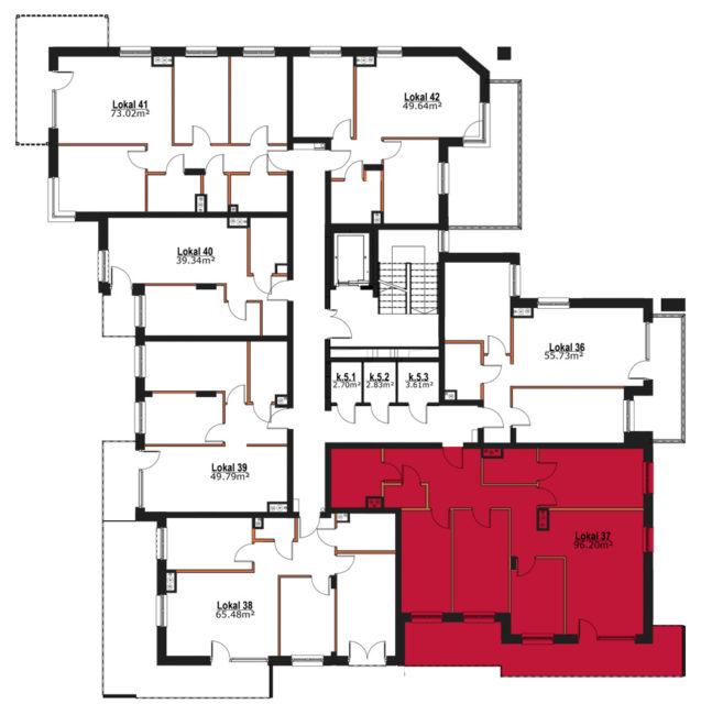 Apartmanety Poezji - M37