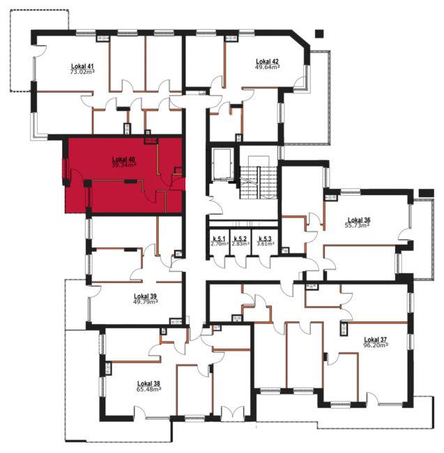 Apartmanety Poezji - M40