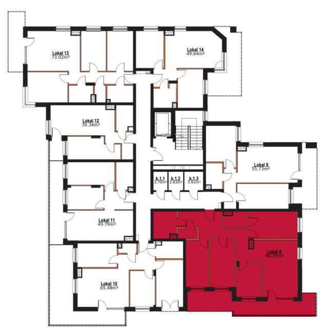Apartmanety Poezji - M9