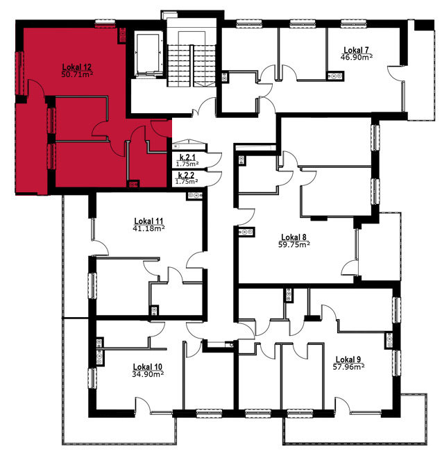 Apartmanety Poezji - M12