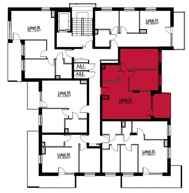Apartmanety Poezji - M32
