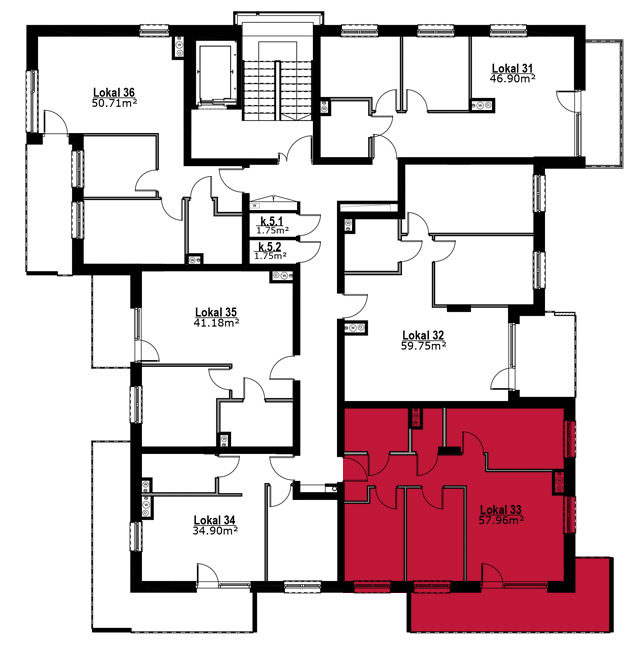 Apartmanety Poezji - M33