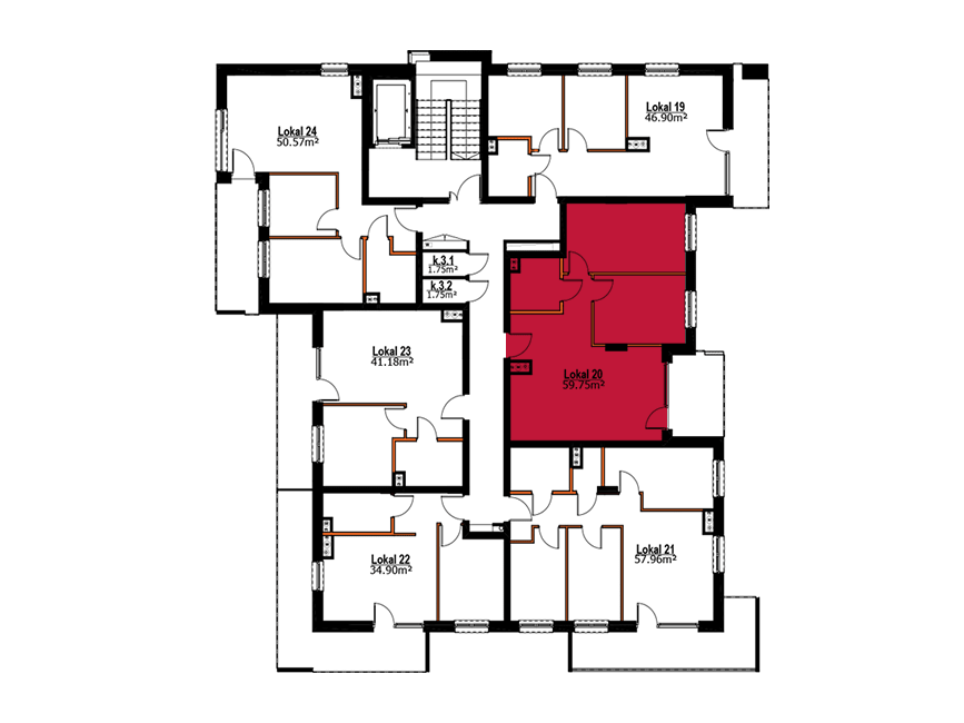 Apartmanety Poezji - M20