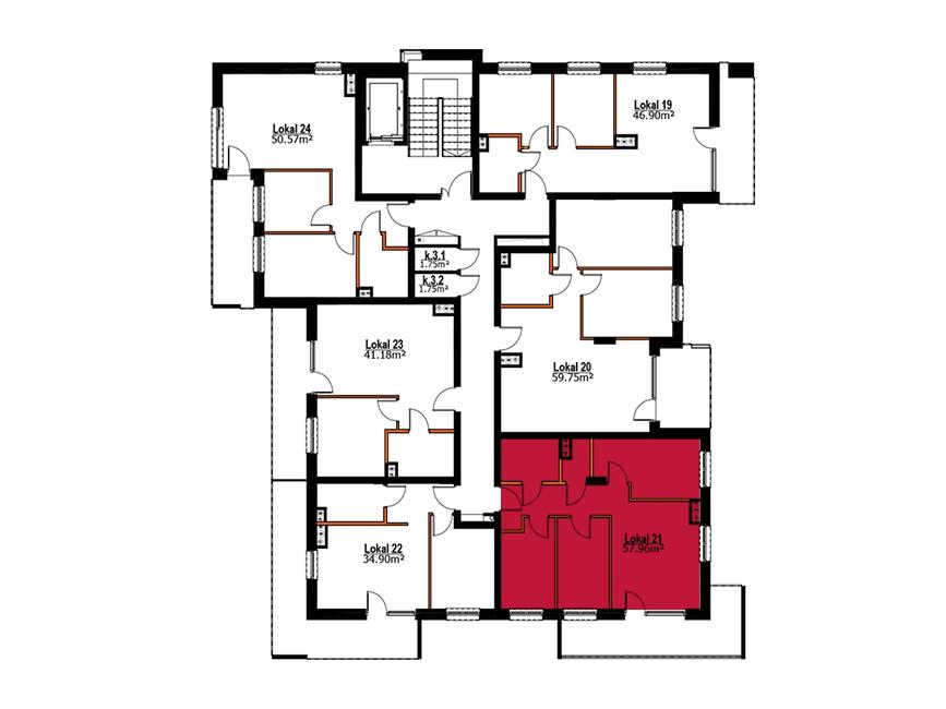 Apartmanety Poezji - M21
