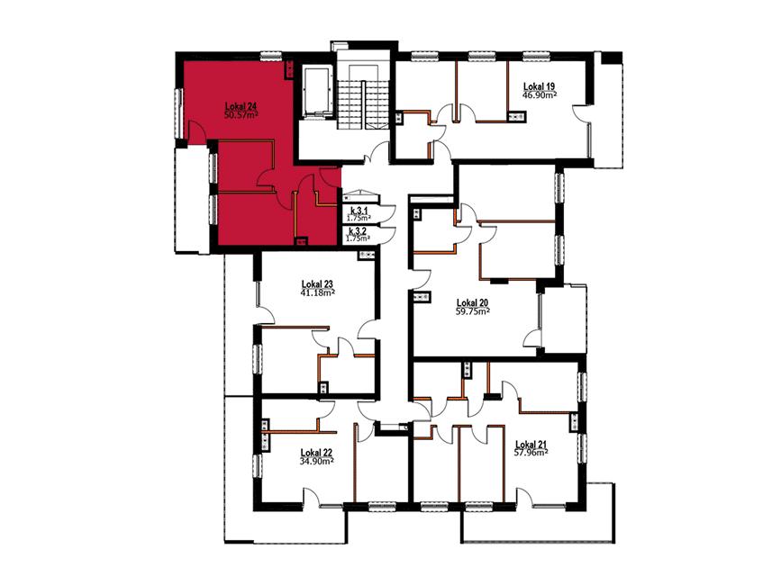 Apartmanety Poezji - M24