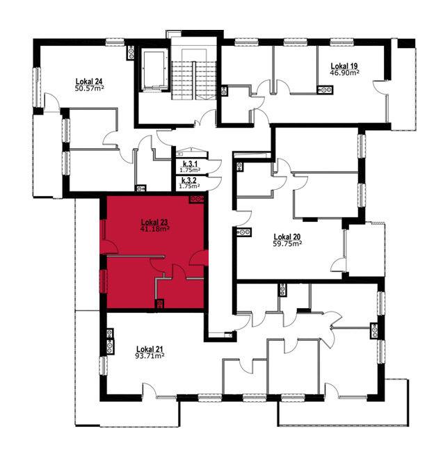 Apartmanety Poezji - M23