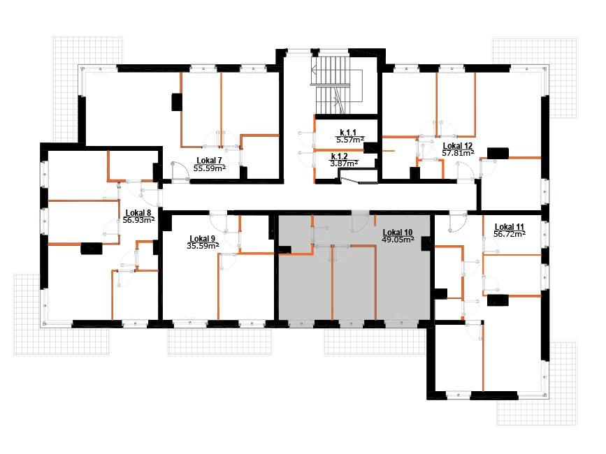 Mieszkania Zabrze Grzybowice - 10