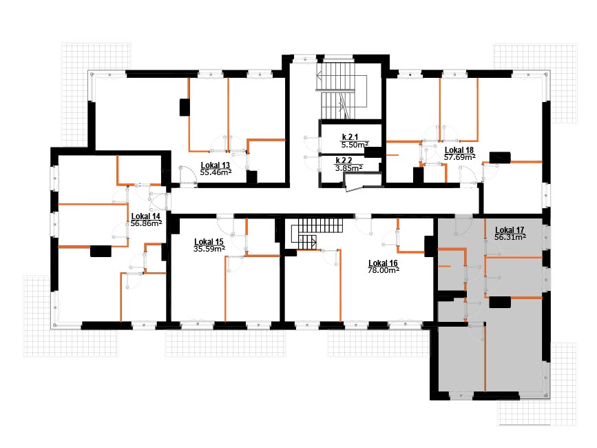 Mieszkania Zabrze Grzybowice - 17