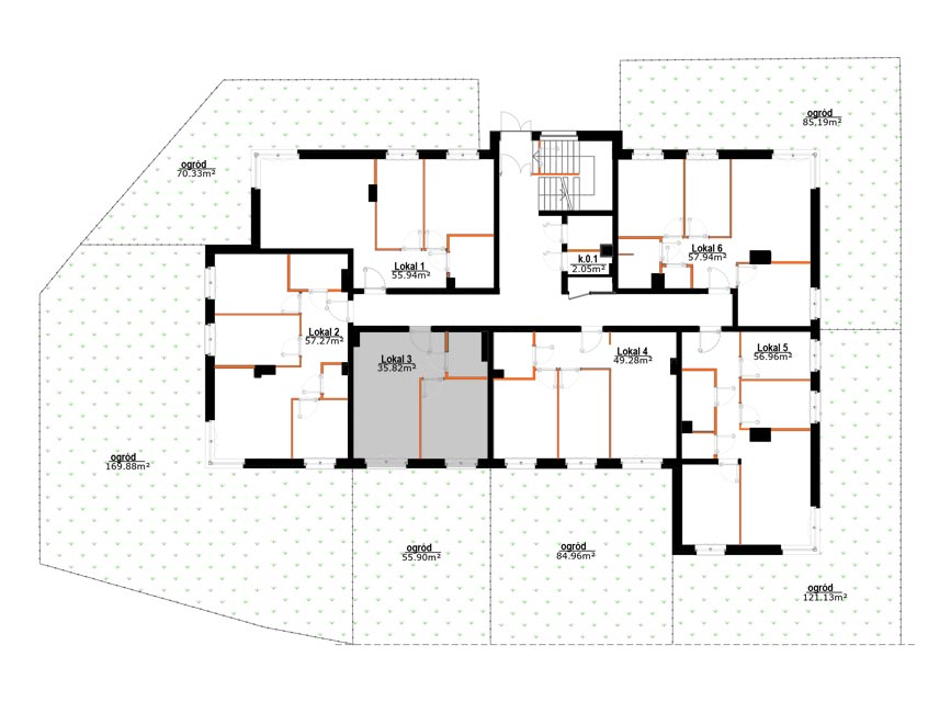 Mieszkania Zabrze Grzybowice - 3