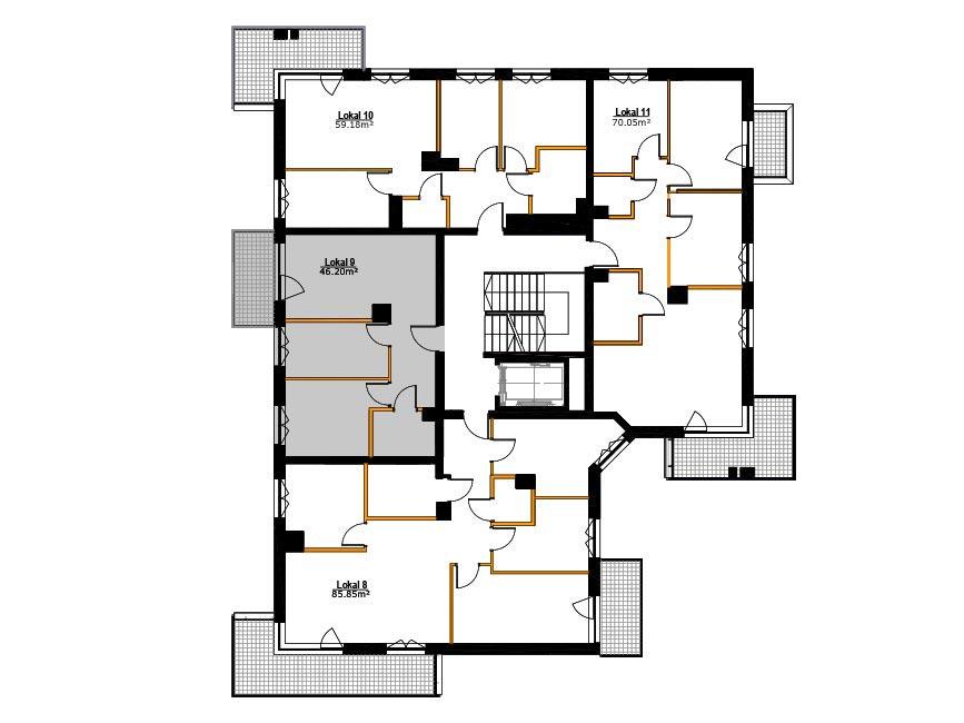 Apartamenty Zabrze Centrum - M9