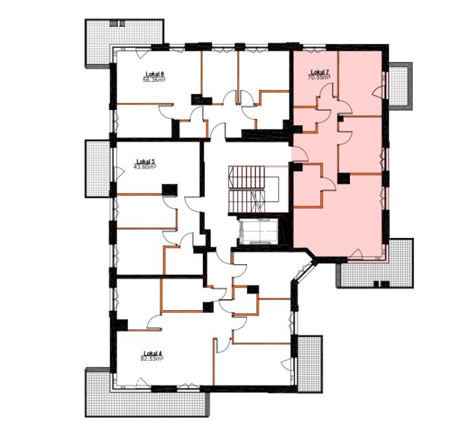 Apartamenty Zabrze Centrum - M07