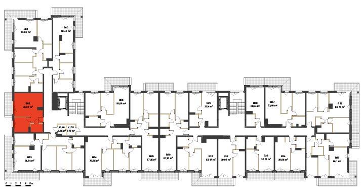 Apartmanety Poezji - BM62