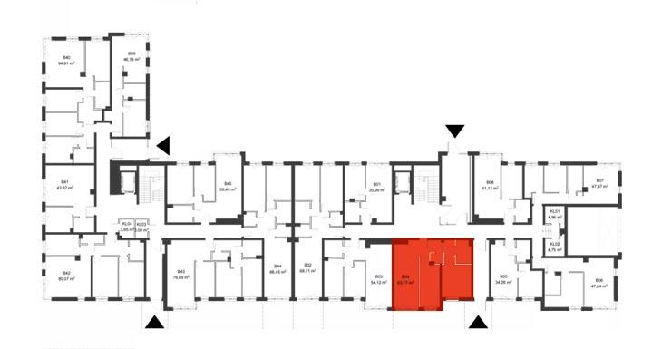 Apartmanety Poezji - BM04