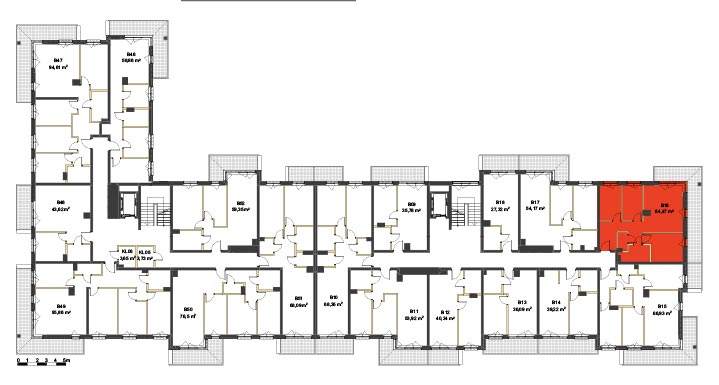 Apartmanety Poezji - BM16