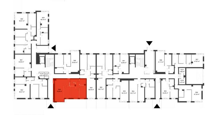 Apartmanety Poezji - BM43