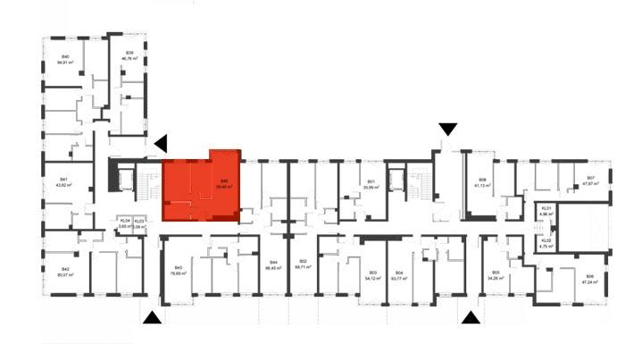 Apartmanety Poezji - BM45