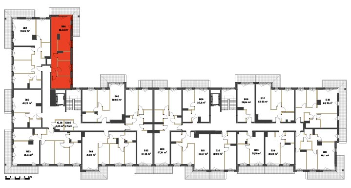 Apartmanety Poezji - BM60