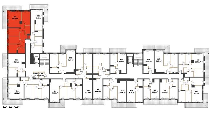 Apartmanety Poezji - BM61