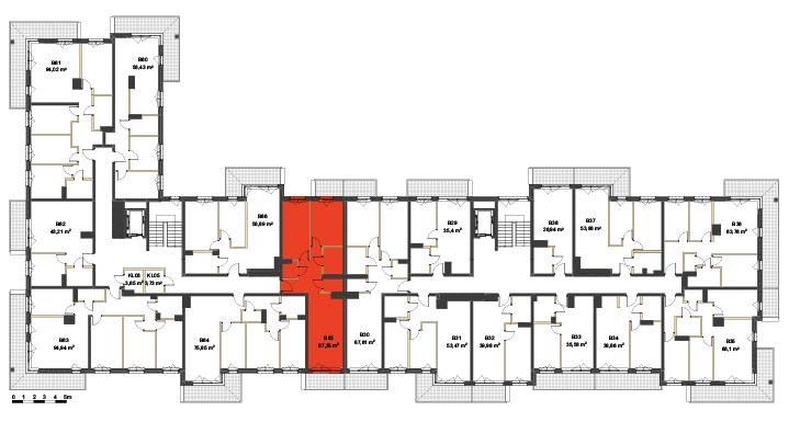 Apartmanety Poezji - BM65