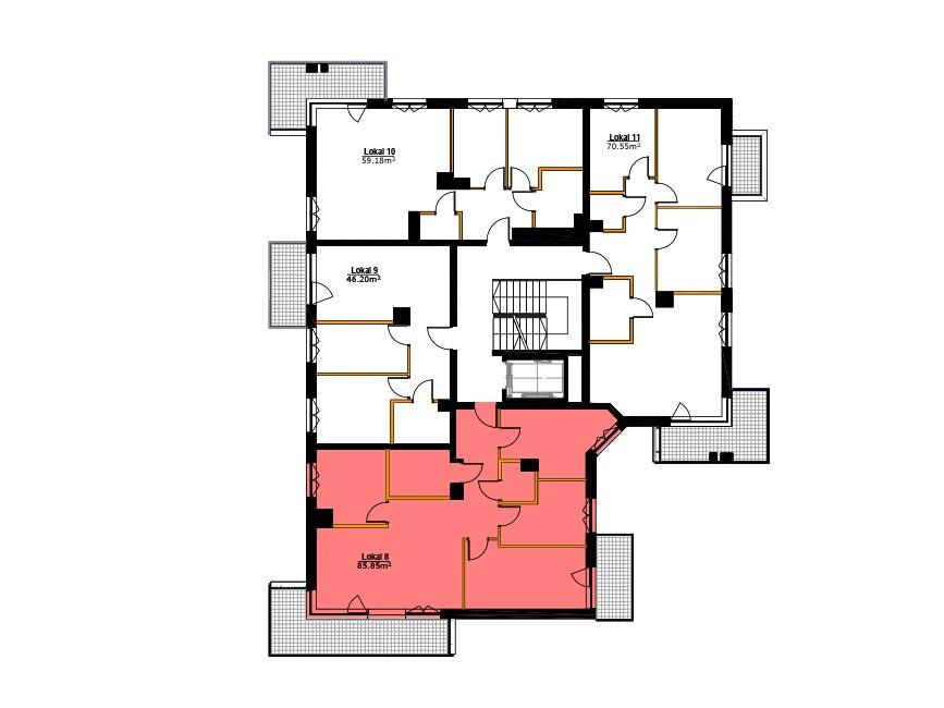 Apartamenty Zabrze Centrum - M08