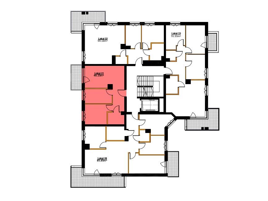 Apartamenty Zabrze Centrum - M21